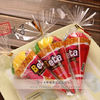 China New creative promotion gift product wedding gift ice cream towel with gift box factory
