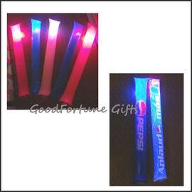 Led Inflatable PE inflatable clapper dance festival glow cheering stick printed logo