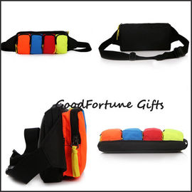 high quantity customed gift cheapest promotional canvas travel sports waist bag