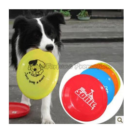 customed logo promotional Eco ps dog training flying disc saucer frisbee gift