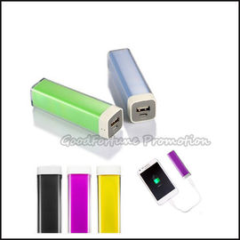 Customed promotional portable coloured Neon Emergency mobile Charger printed logo gift