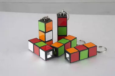 China Rubiks mini flashlight torch promotion gift factory
