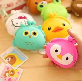China Lovely Silicone Mini Coin Purse promotion gift factory
