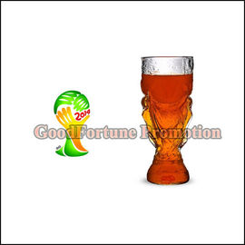 New promotion gift creative product football fan gift FIFA WORLD CUP glass beer wiine cup