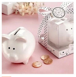 China New promotion gift creative product lovely piggy bank money box wedding gift factory