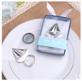 New creative promotion gift product wedding gift ship bottle opener